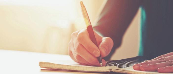نظم و عادت نوشتن