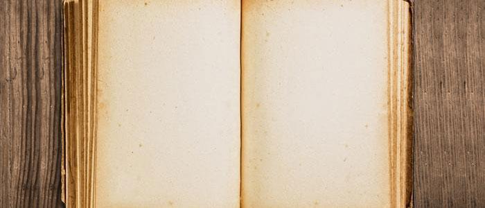 چرا صفحات آخر بعضی کتابها سفید است؟